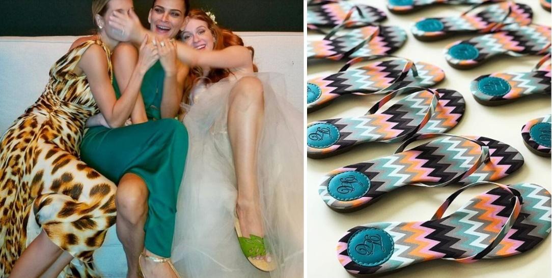 Como não errar no cálculo da quantidade de chinelos para o casamento!