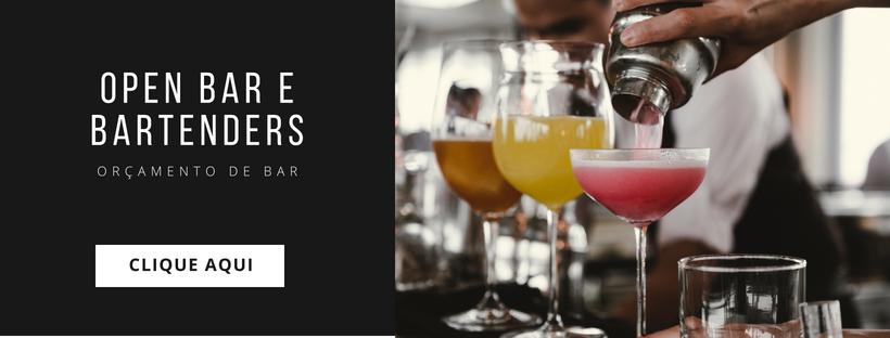 Open bar e bartenders Momento Noiva