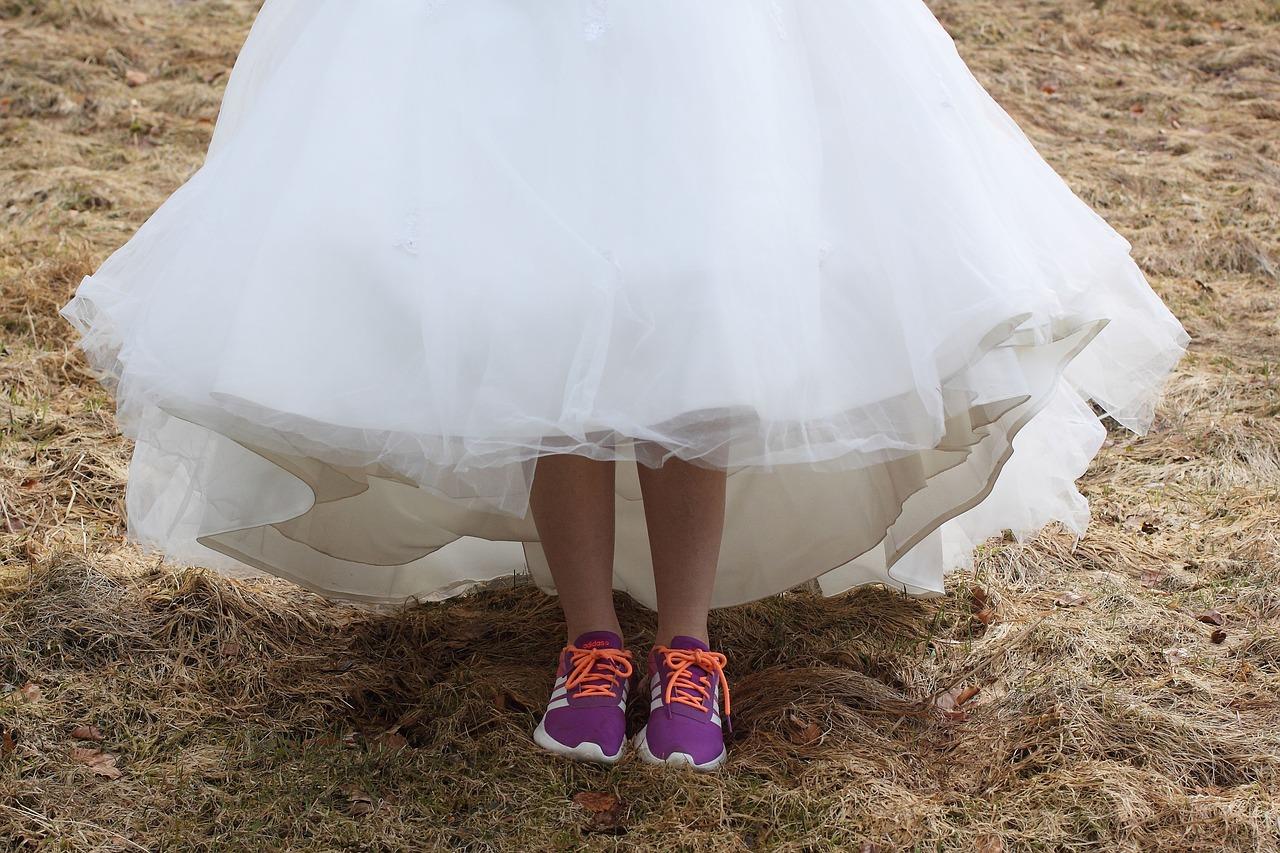 Tênis para noiva, 100% de conforto para o seu grande dia! 2